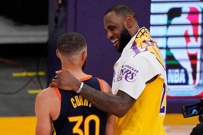 Stephen Curry et LeBron James