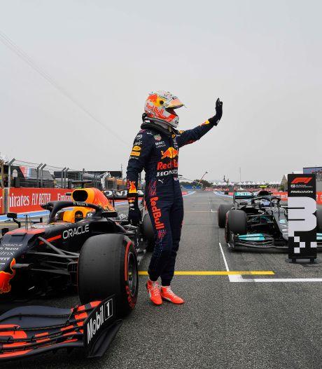 La pole position pour Max Verstappen