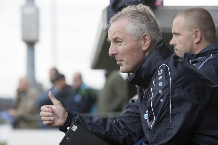Jos Heutinck heeft zijn contract verlengd bij FC Trias. Foto: Jan van den Brink