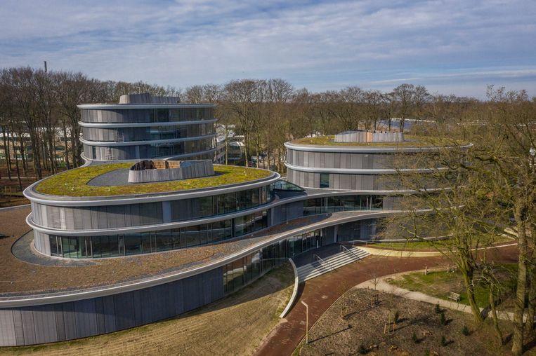 Vorig jaar maart opende Triodos Bank een duurzaam hoofdkantoor in Driebergen. Beeld Hollandse Hoogte / Michiel Wijnbergh Fotografie