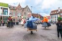 In de namiddag kon gelukkig wel nog de traditionele reuzendans plaatsvinden op het Mercatorplein.