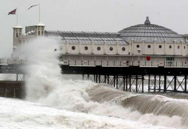 Brighton Pier blijft voorlopig gesloten voor bezoekers. Beeld UNKNOWN