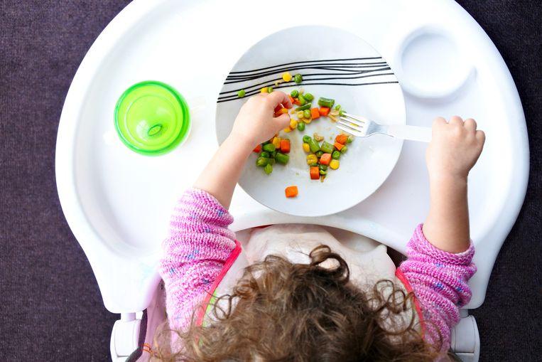Een regime zonder dierlijke producten als melk en ei? De Belgische Vereniging van Kinderartsen ontraadt het voor kinderen jonger dan zestien. Beeld Thinkstock