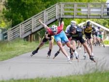 Skeelerwedstrijden en schaatstrainingen lopen dwars door elkaar heen, als Mulder uit Limburg komt gaat Harink erheen