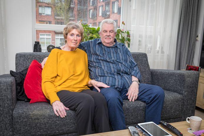 Lenie en Dick Pasterkamp uit Maassluis. Beiden lijden aan de ziekte van Parkinson.