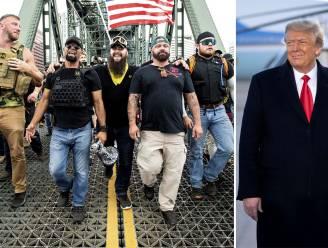 """Proud Boys laten Trump vallen en omschrijven hem als """"extreem zwak"""""""