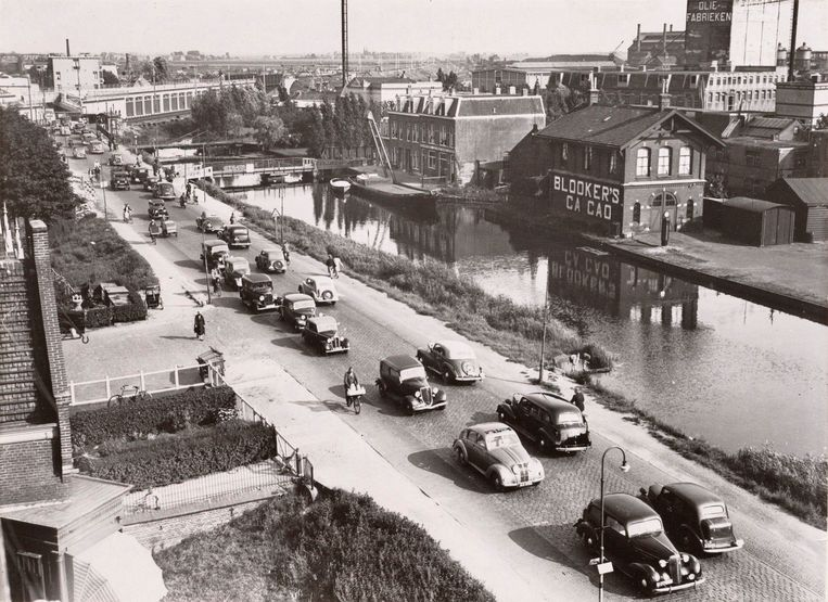 De Weesperzijde, 1939. Beeld Stadsarchief
