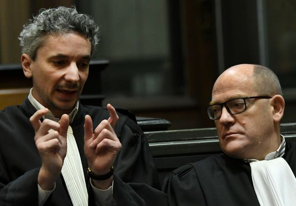 Advocaten Maxime Nardone en Adrien Masset.