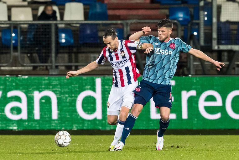 Ajax, oppassen voor het schokeffect tegen Willem II