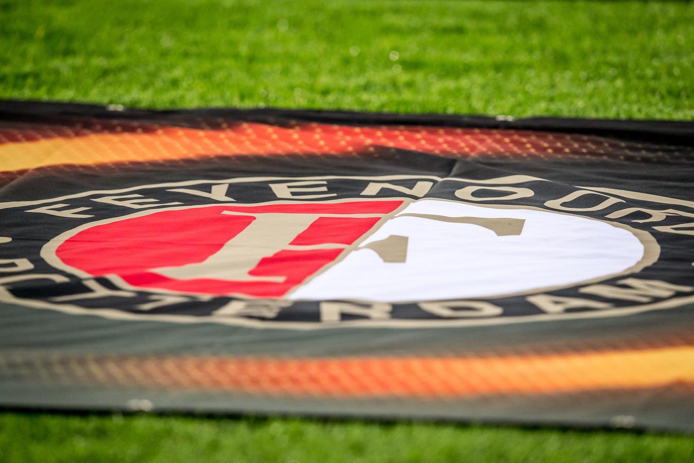 Het logo van Feyenoord.
