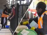 Azc-echtpaar maakt station Maarheeze schoon: 'Ze zijn er iedere dag'