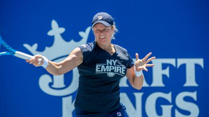 Kim Clijsters neemt rustdag op World Team Tennis