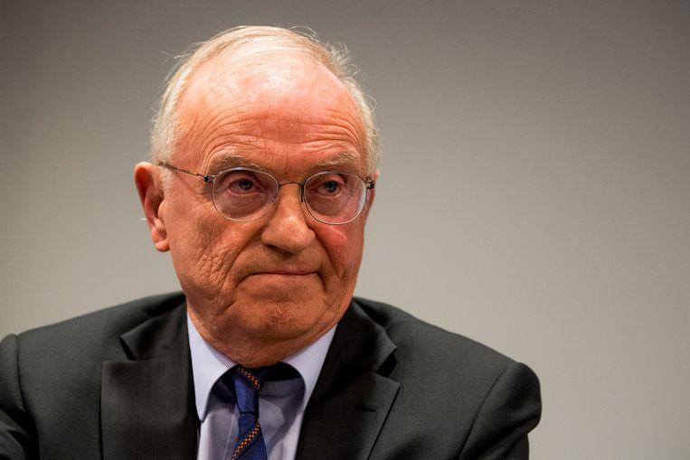 Luc Van den Brande, voorzitter van de raad van bestuur bij de VRT.  Beeld BELGA