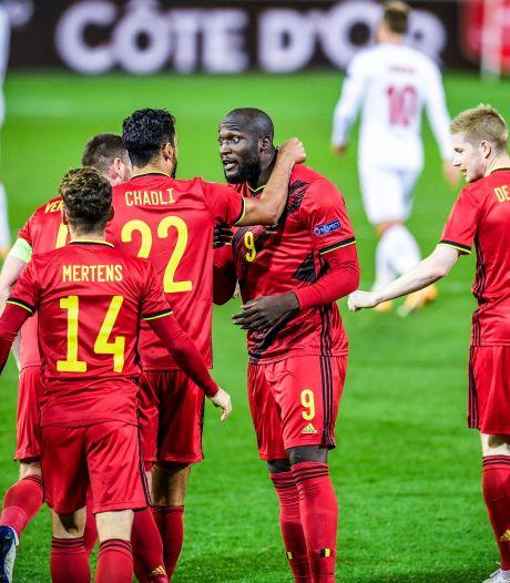 La Belgique restera en tête du premier classement FIFA de l'année publié jeudi