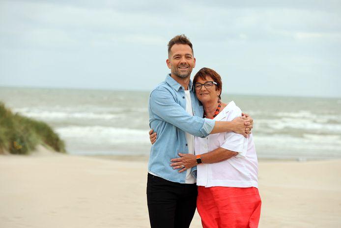 Davy Parmentier en z'n moeder Martine vertellen in Dag Allemaal over hun bijzondere band.