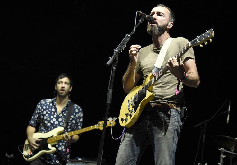 The Shins tijdens een concert in Las Vegas, september 2016. Beeld Getty Images
