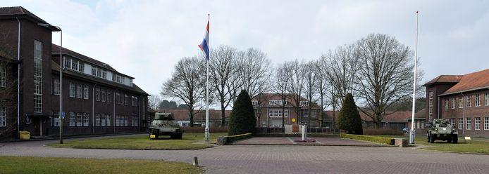 Het terrein van de Bernhardkazerne.
