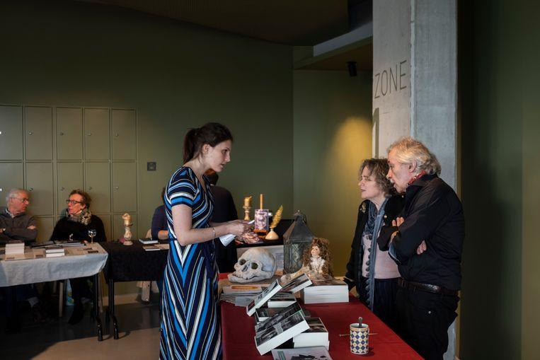 De Schrijversmarkt voor lokale auteurs