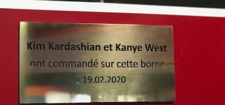 KFC érige une plaque commémorative après le passage de Kim et Kanye dans son restaurant