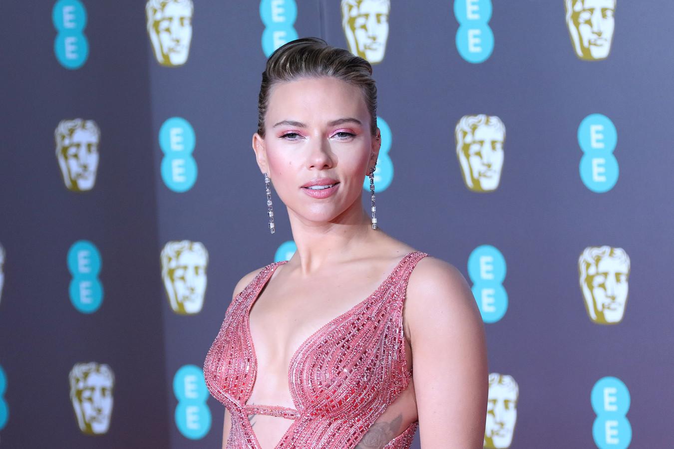 Scarlett Johansson in februari 2020.