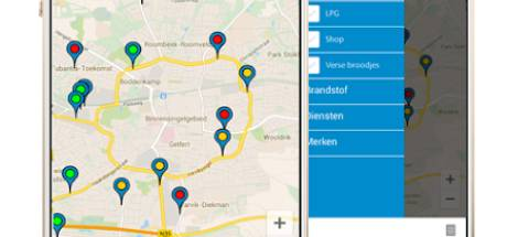 'Handige app voor het vinden van tankstations met E5-benzine'