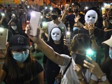 In Hongkong is het na 'donkere dag' van uitzonderlijk gewelddadig protest angstvallig stil