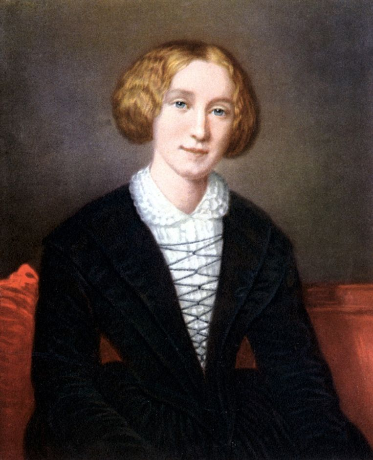 Mary Ann Evans, beter bekend als George Eliot (1819-1880), rond 1754. Beeld Getty Images