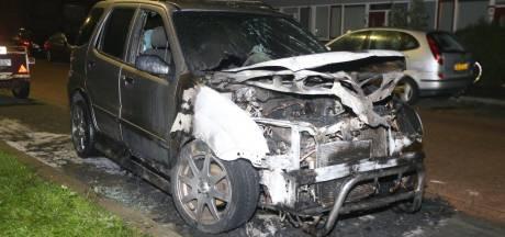 Opnieuw auto in brand in Den Bosch