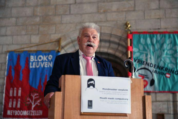 Voorzitter François Michiels van de Leuvense Jaartallen hoopt dat het sociale leven alsnog op gang kan komen dit jaar.