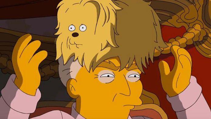 Donald Trump volgens The Simpsons.