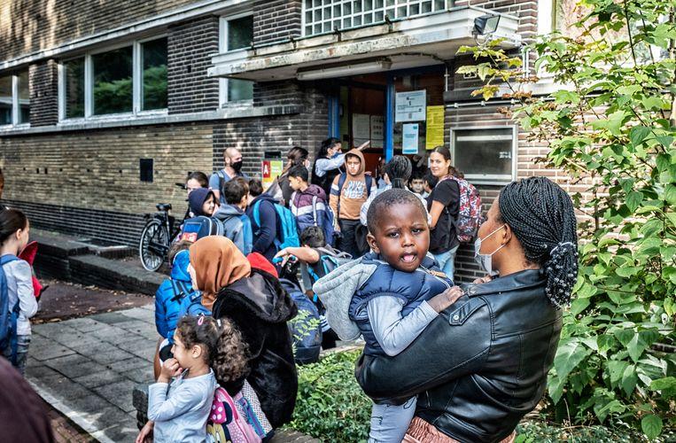 Basisschool Optimist in Antwerpen. Beeld Tim Dirven