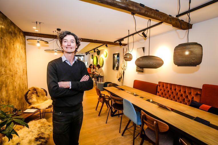 Brugge Smaaak, het interieurcafé waar alles te koop is: Thomas Coucke