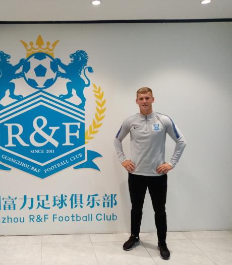 Niels van Sundert (29) van Victoria'03 naar Chinese voetbalgekte: 'Met Dembélé kan ik lekker slap ouwehoeren'