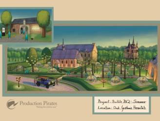 """Bubble BQ strijkt binnenkort neer aan Oud Gasthuis met 'dining domes': """"Fier om met ons concept het Herentalse erfgoed in de kijker te kunnen zetten"""""""