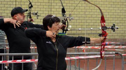 Europees kampioenschap boogschieten op liggende wip in sporthal 't Wit Zand