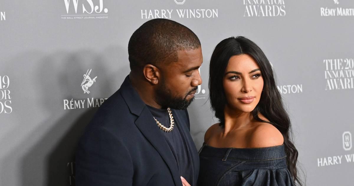 """""""Kanye raconte à tous ses amis que Kim bluffe à propos du divorce"""" - 7sur7"""
