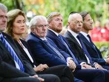 Rutte bij onthulling holocaustmonument: antisemitisme leeft nog steeds