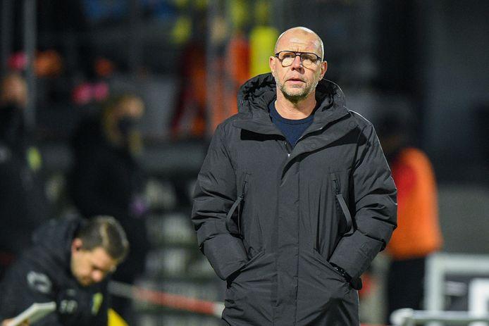 Voor trainer Fred Gim is de wedstrijd tegen Fortuna Sittard belangrijk, maar niet bepalend.