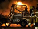 Camper brandt compleet uit in Nijmegen