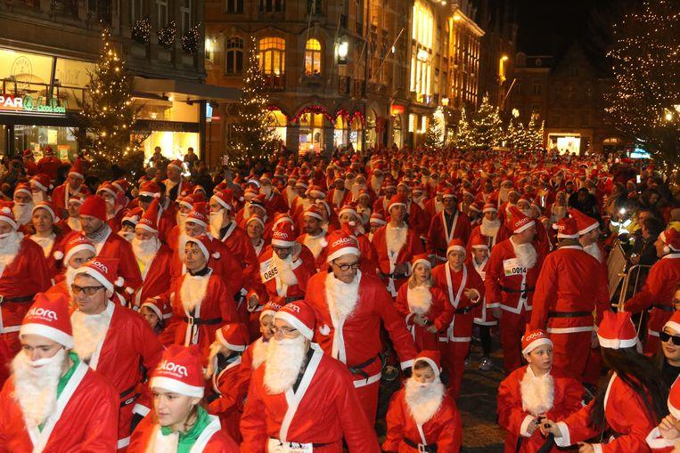 Santa Claus Run in Ieper