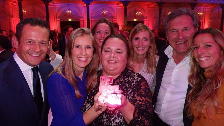 Een van de twee Gouden Effie-winnaars: TWBA\Neboko voor Albert Heijn. Deze mensen zijn schuldig aan het verspreiden van 44 miljoen moestuinpotjes in vier weken tijd Beeld Schuim