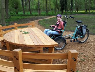 'Snoezelbos' maakt groen ook toegankelijk voor rolstoelgebruikers