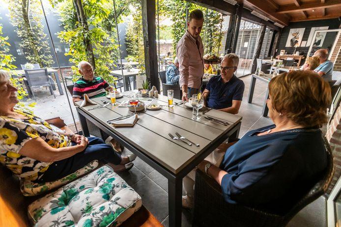 Zo'n 90 procent van de gasten van Jan's Polder valt in de categorie vaste klanten.