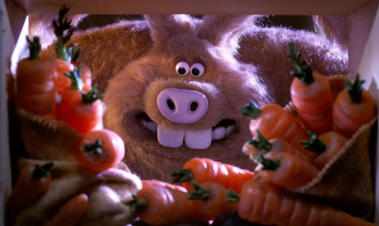 Wallace & Gromit in The Curse of the Were-Rabbit (2005). Beeld null