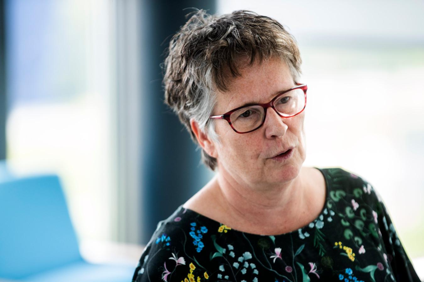 Bestuurder FNV Zorg Elise Merlijn.