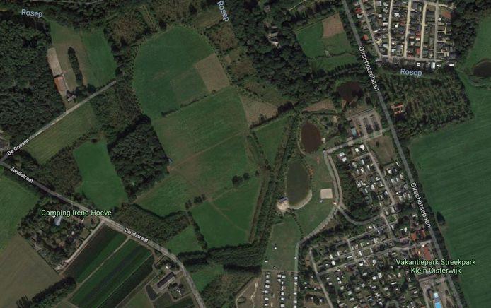 Tussen Zandstraat en Oirschotsebaan, met Streekpark Klein Oisterwijk als buur, is Landgoed 't Lot ingetekend.
