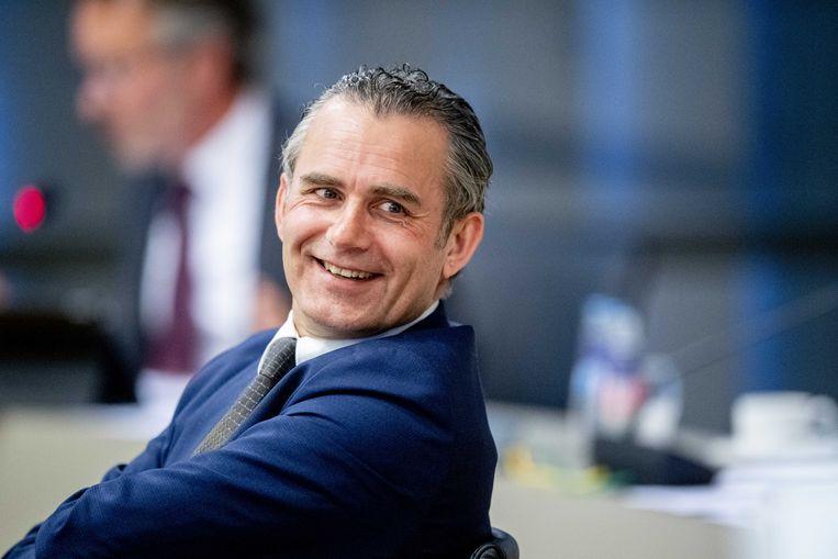 Tom van der Lee, voorheen Novib, nu nummer 3 van GroenLinks. Beeld ANP