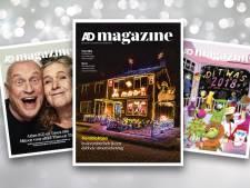 'Net na de feestdagen denken we alweer aan het volgende kerstmagazine'