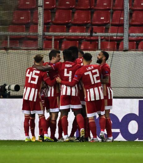 PSV prutst er in Griekenland op los en zit ook in de Europa League flink in de nesten