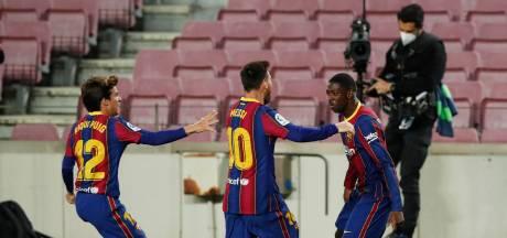 Un but tardif de Dembélé et une victoire qui compte pour le Barça